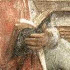 Le jeune Cicéron lit un livre